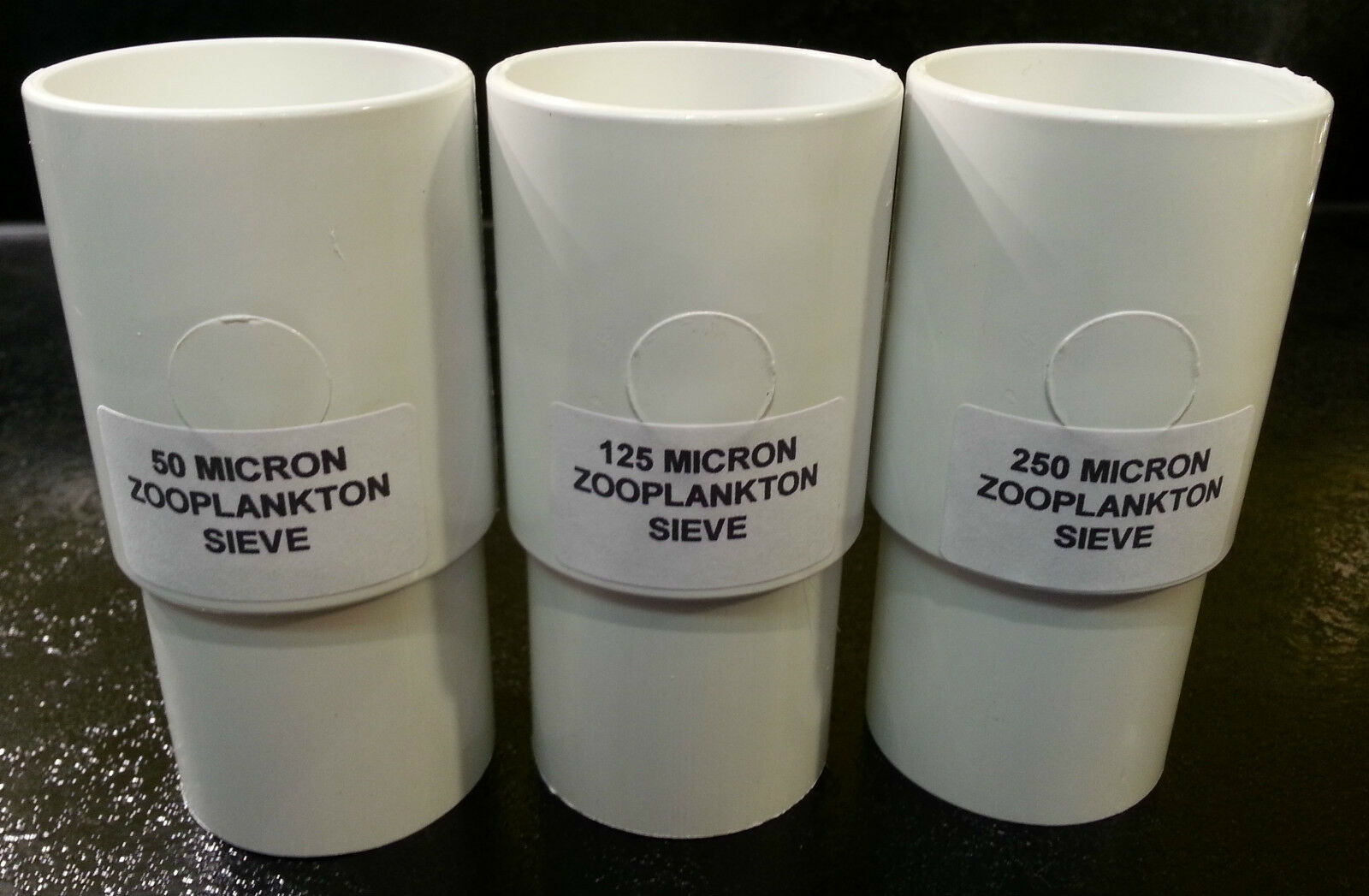 Zooplankton Stackable Sieves 10 25 50 75 125 250, Rotifers Brine Shrimp Copepods