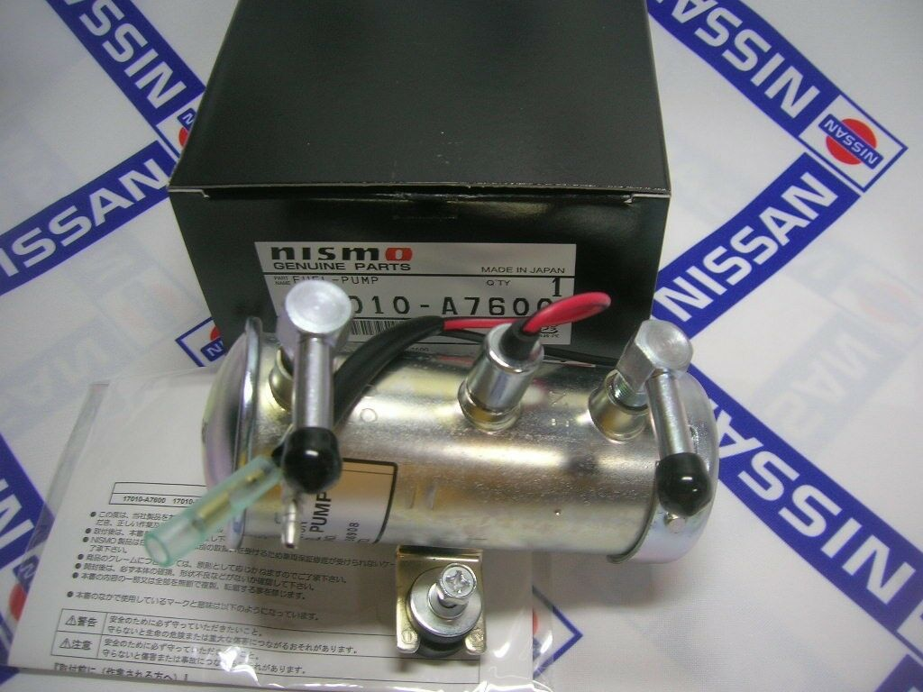 Datsun 510 1200 240z Nismo Electric Fuel Pump For Nissan B10 280z Filter 1 Of 12only 3 Available