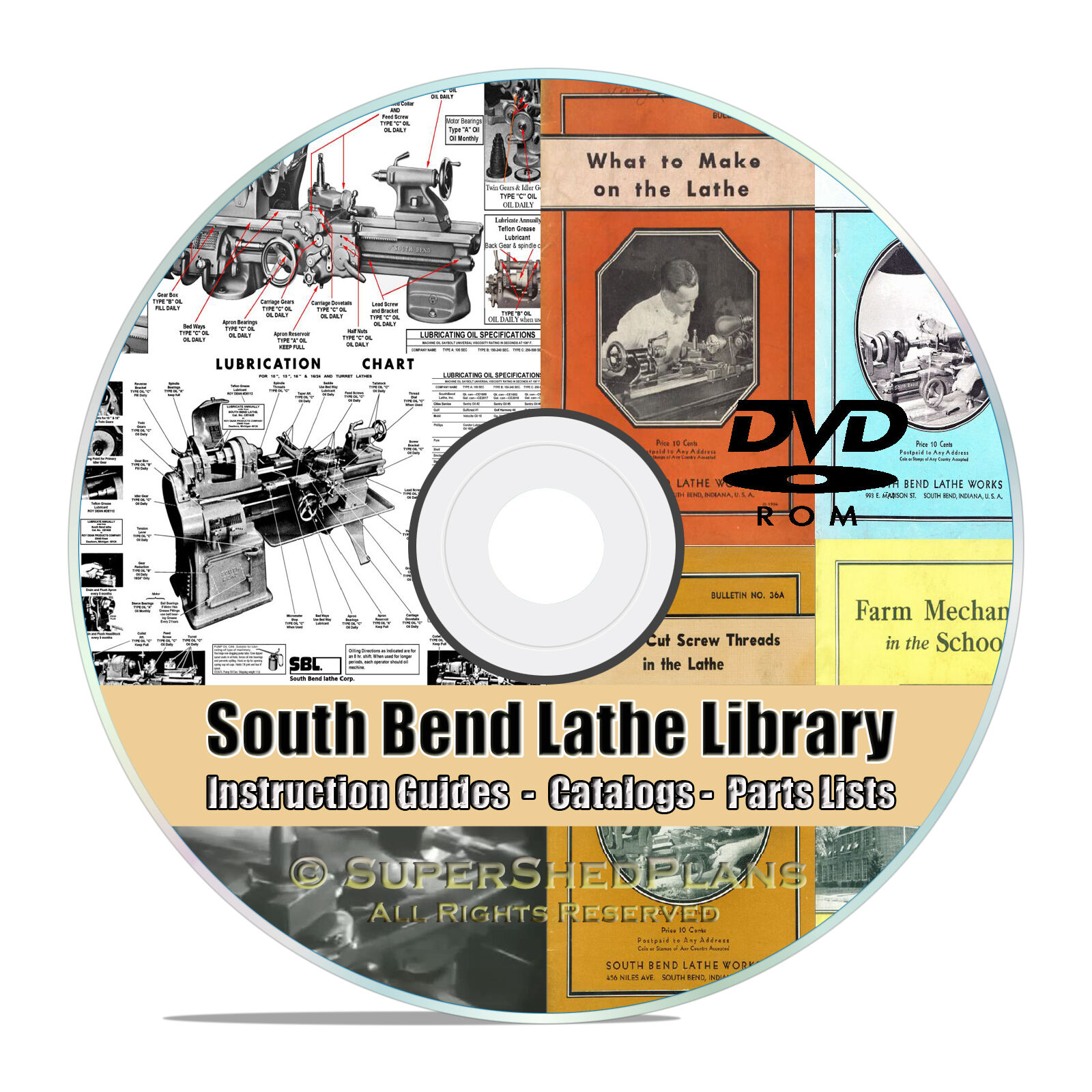 South Bend Lathe Manual Library Collection How To Run A Parts Wiring Diagram Besides Jcb Backhoe On John Deere 620 1 Of 1free Shipping
