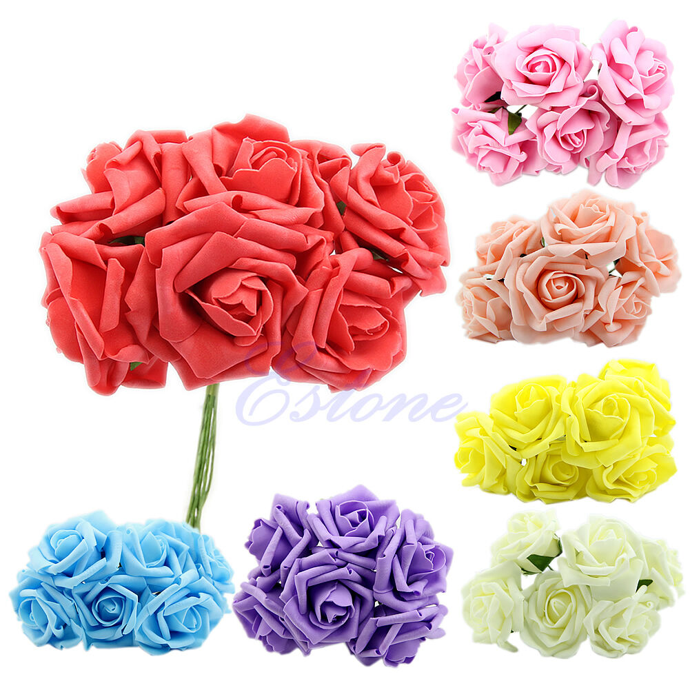 Beautiful latex real touch rose flower bouquet home decor head beautiful latex real touch rose flower bouquet home decor head bridal wedding 1 of 7 see more izmirmasajfo