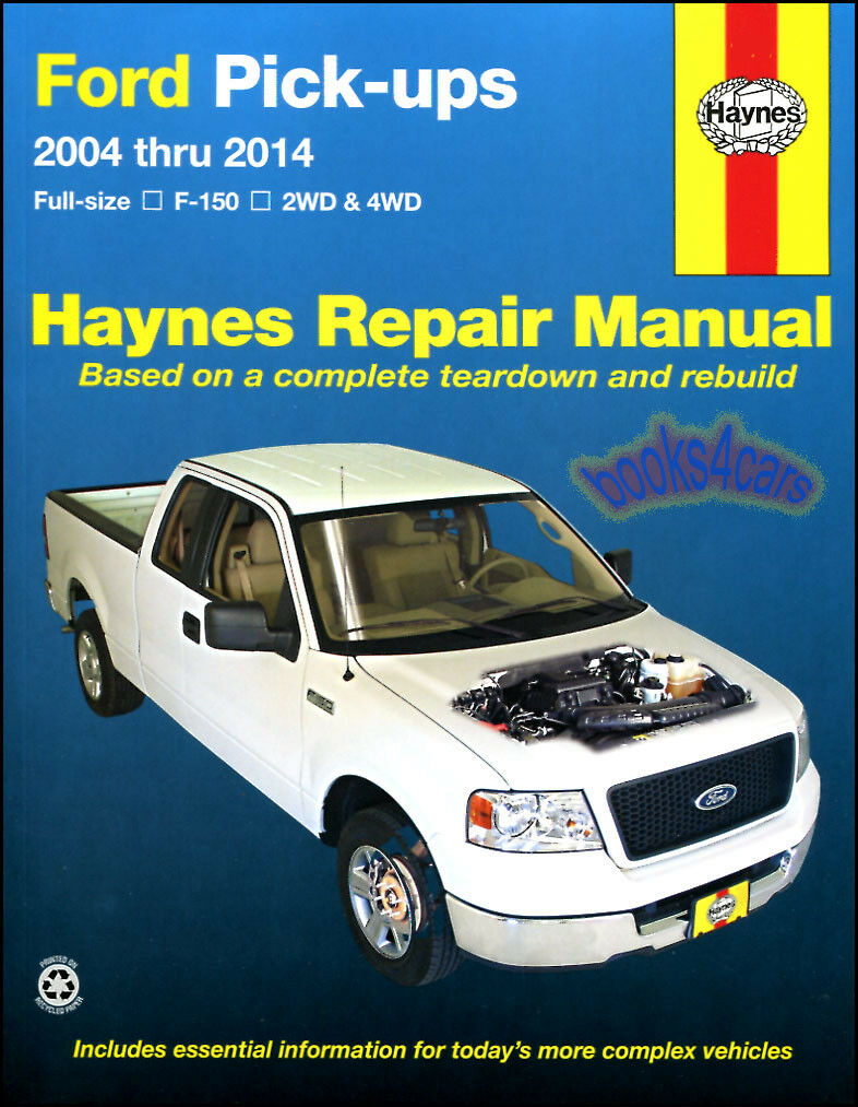 Shop Manual F150 Service Repair Ford Haynes Book Pickup Truck F-150 Chilton  4X4 1 of 1FREE Shipping ...