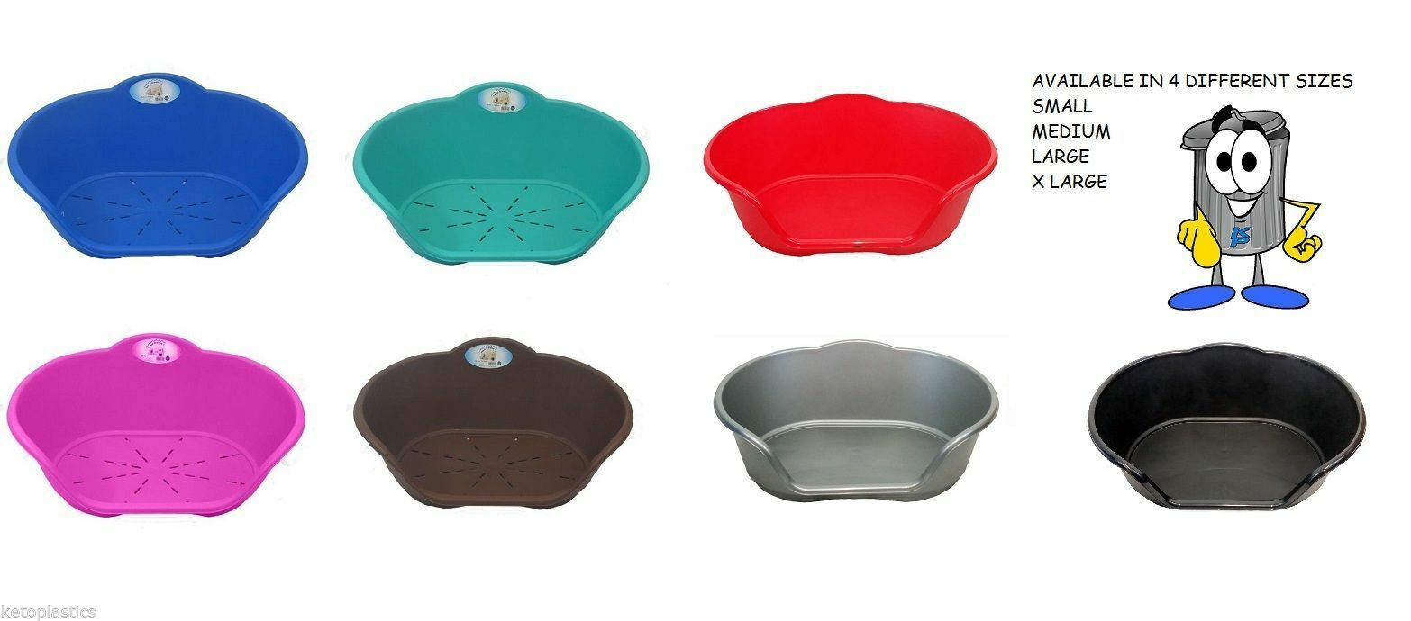 Dog / Cat  Bed / Basket Choose Bed Colour And Cushion Colour Of Your Choice