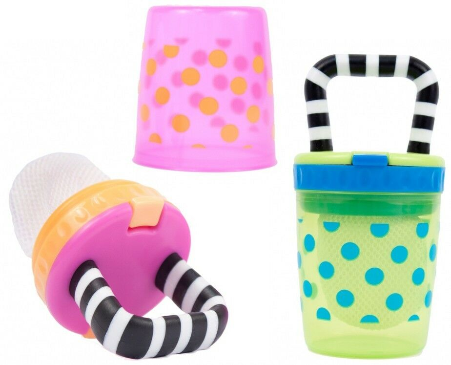 Sassy Baby Safe Self Feeding Teething Feeder W Replaceable Mesh Bags K180 1 Of 1free Shipping