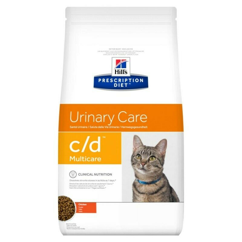 HILL S prescription diet c/d feline urinary stress mangime secco  pollo gr400