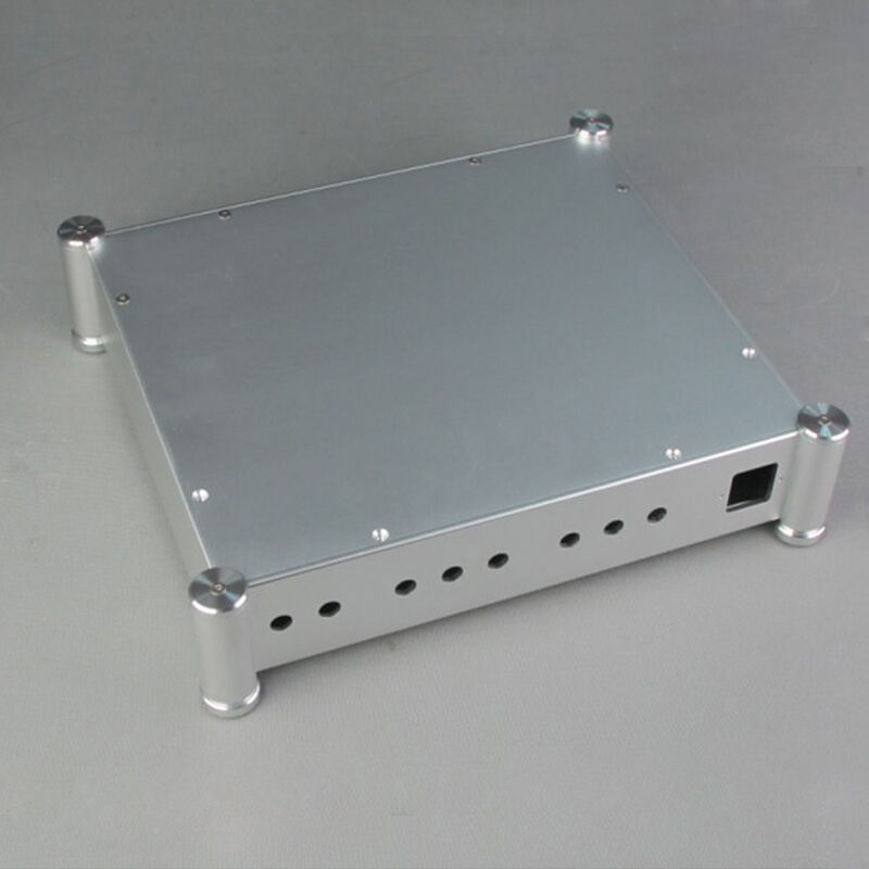 3607t full aluminum chassis mini amp case power amplifier for Chassis aluminium