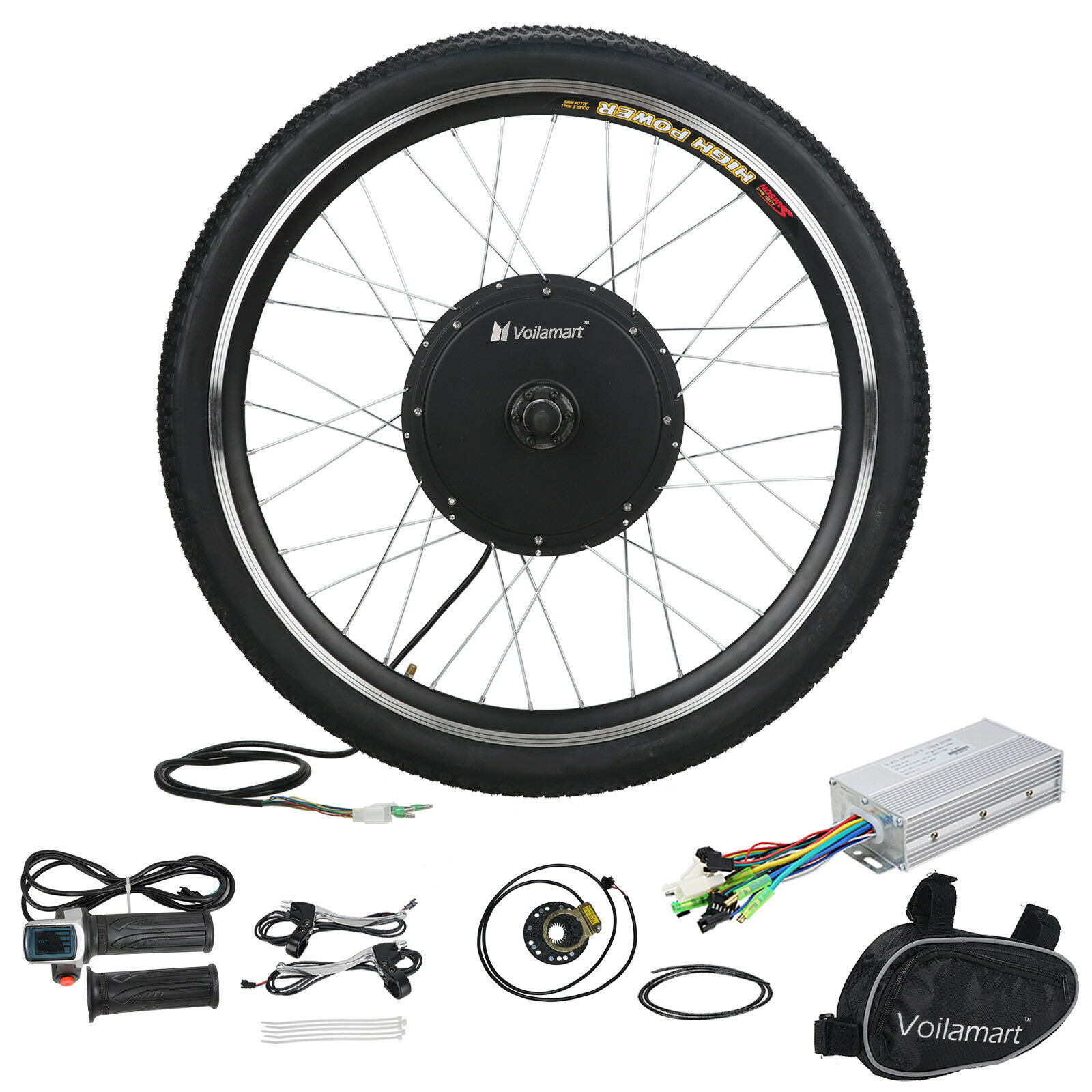 Electric Bicycle 26 Bike 36v 500w Front Wheel Motor Conversion Hub 48v Brushless Bldc From Reliable Kit Cycling 1 Of 10free Shipping