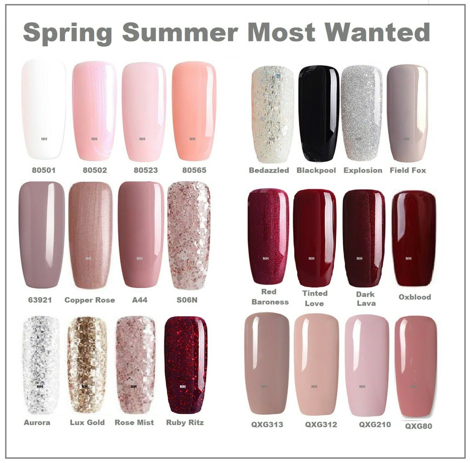 Bluesky Most Wanted Spring Top And Base Coat Uv Led Soak Off Gel