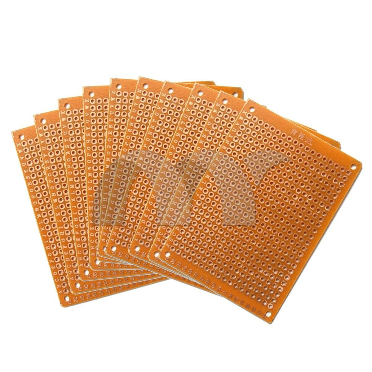 10xdiy Single Side Copper Pcb Universal Experiment Matrix Circuit Soldering Prototype Printed Board 50x70mm 2 Ebay 10pcs Diy Paper 5 X 7cm