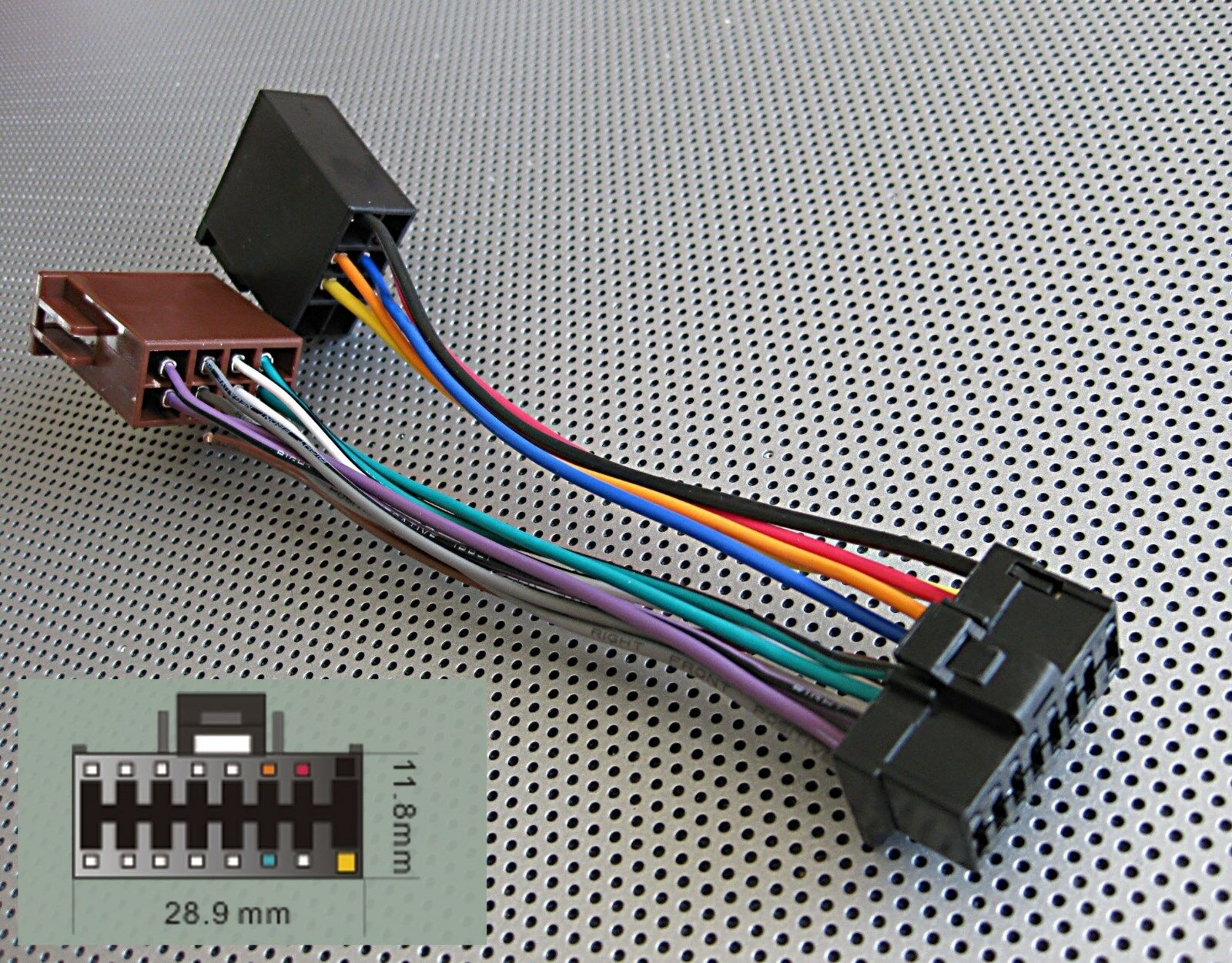 Pioneer Radio 16pin Power Speakers Wire Harness Iso 1601 899 Harmony 1 Of See More