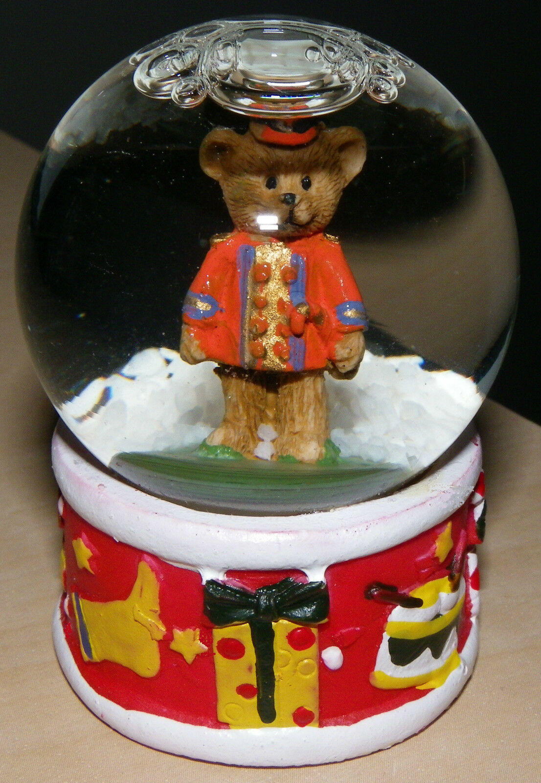 MILES KIMBALL Collectable Christmas Toy Bear Soldier Snowglobe ~ New ...
