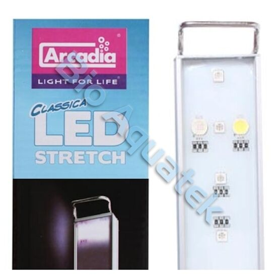 Arcadia LED Stretch Aquarium Fish Tank Light Freshwater CS18F 6w 18cm - 30cm
