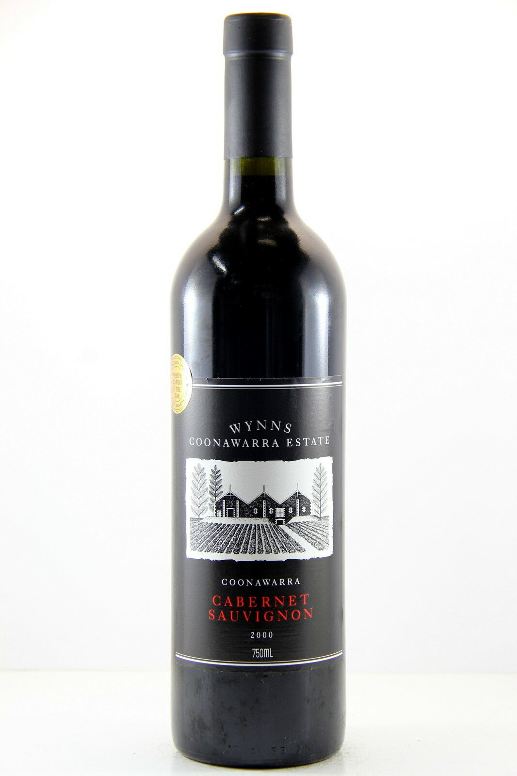 Wynns Black Label Cabernet Sauvignon 2000 Red Wine, Coonawarra