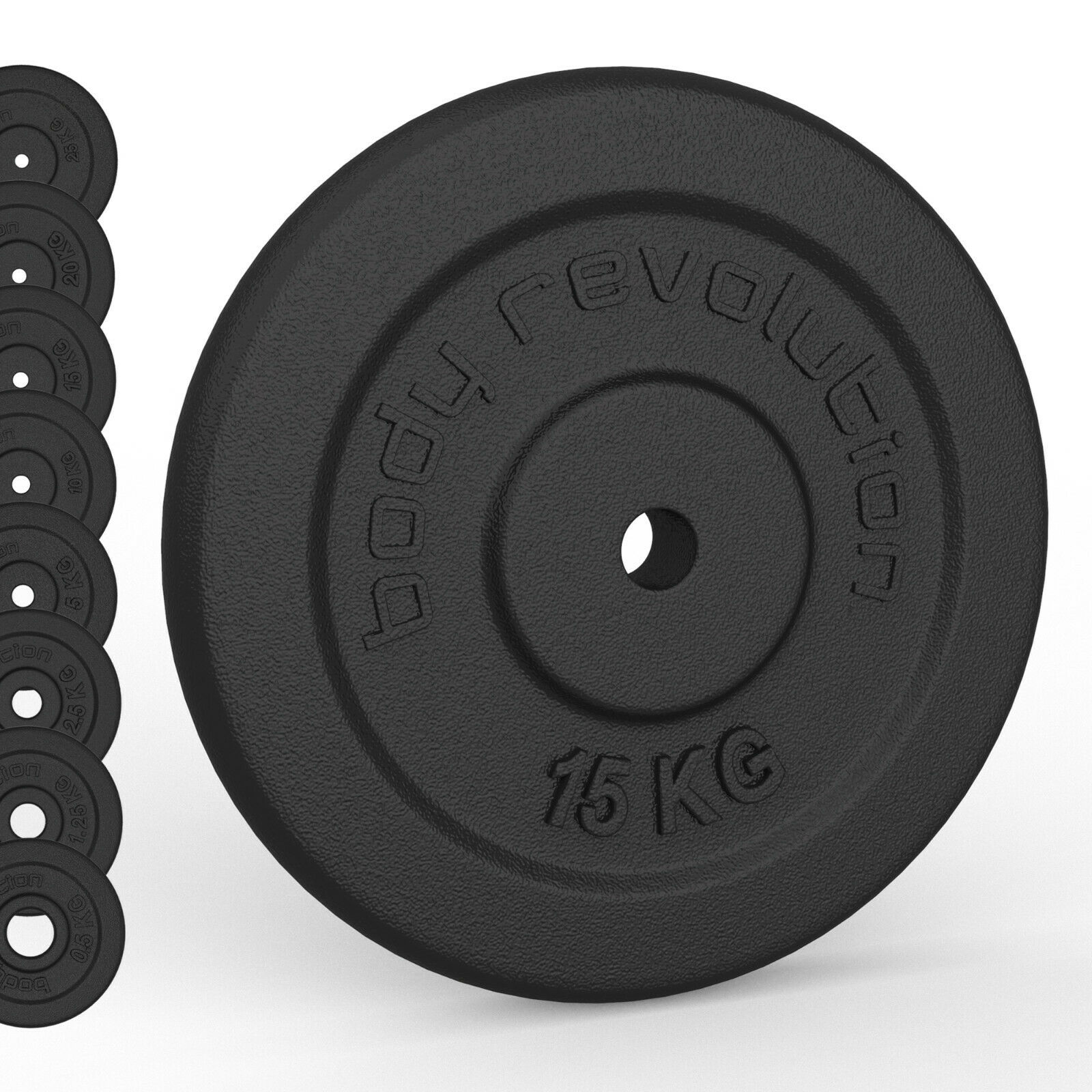 Image result for iron plate dumbbells