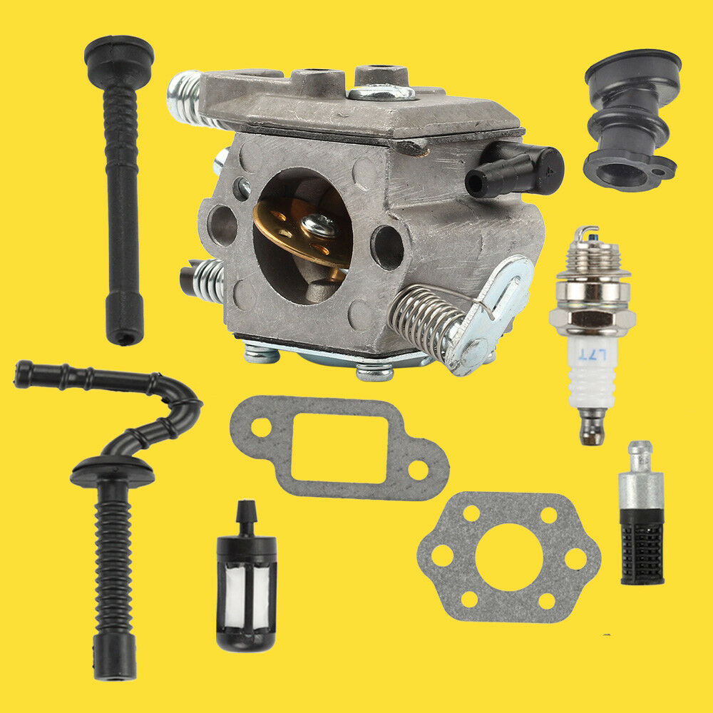 Carburetor Carb Fuel Filter Oil Line Service Kits For Stihl 021 023 My Chainsaw 1 Of 3only 2 Available