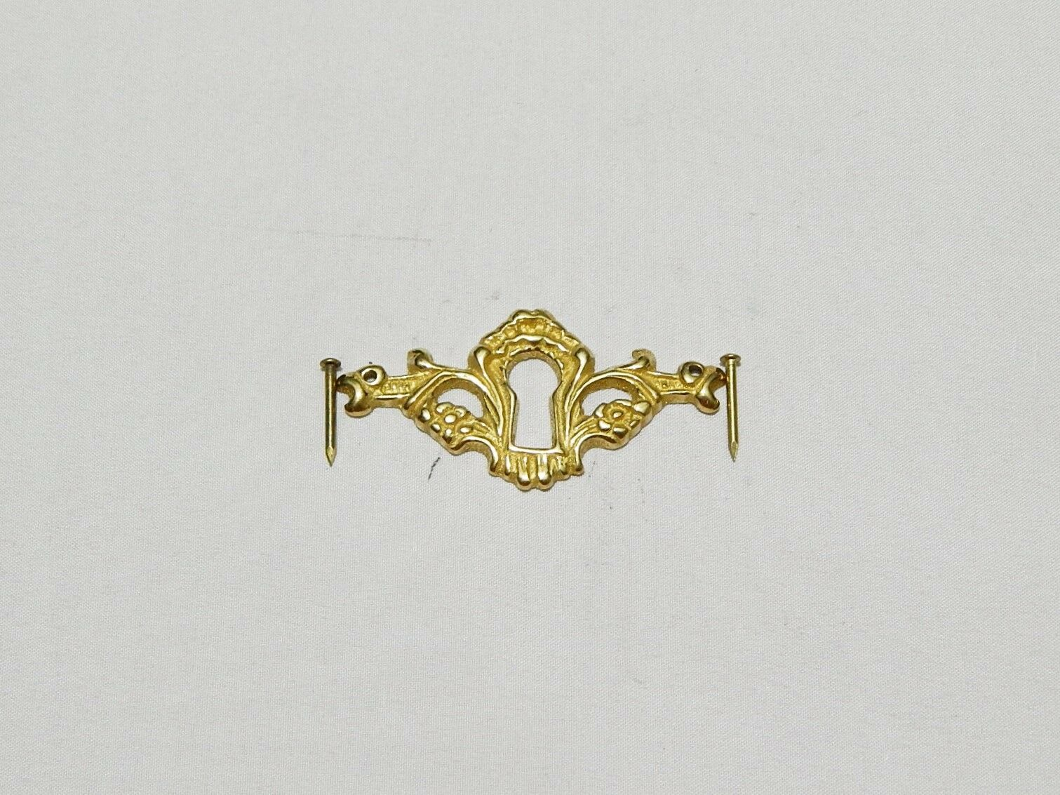 Keyhole Cover Cast Brass for Drawer Lock