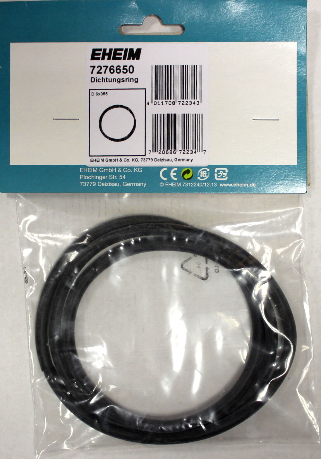 Eheim Sealing Ring - 7276650