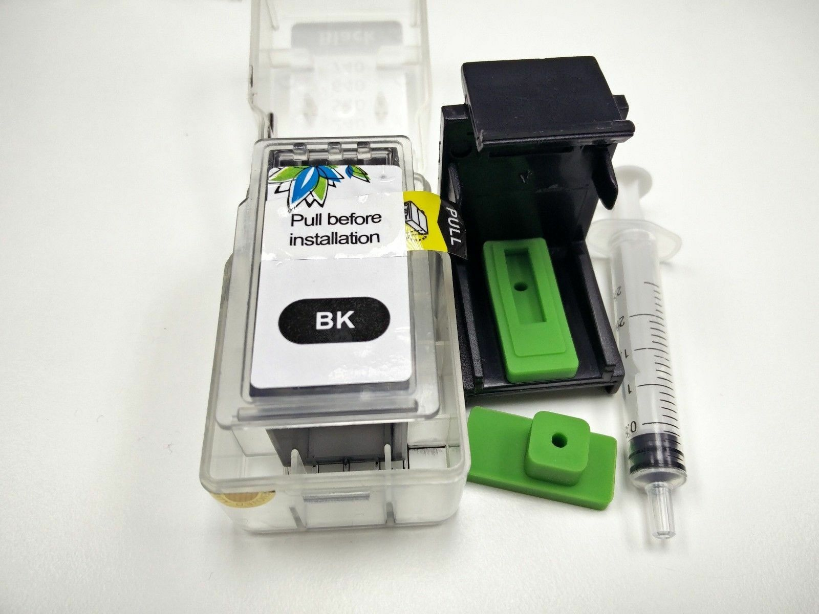 Refilled Oem Ink Cartridge Michaelieclark Tinta Sun Refill Kit Hp Black And Colour 1 Of 1free Shipping