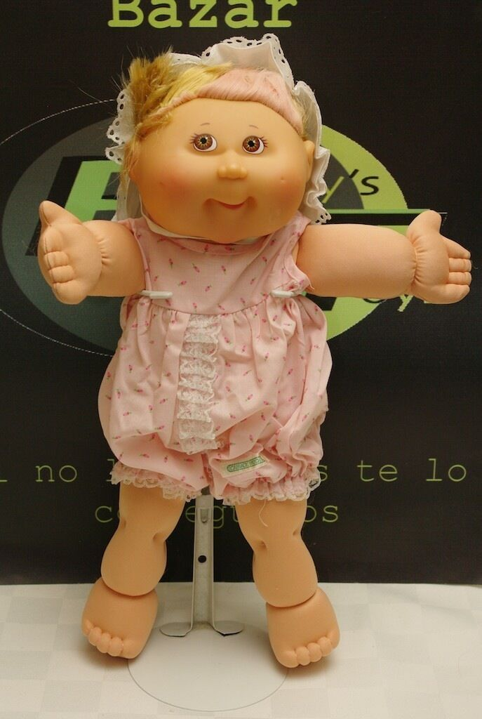 Cabbage Patch Kids Doll Blonde Pink Highlights Hair Cut Look