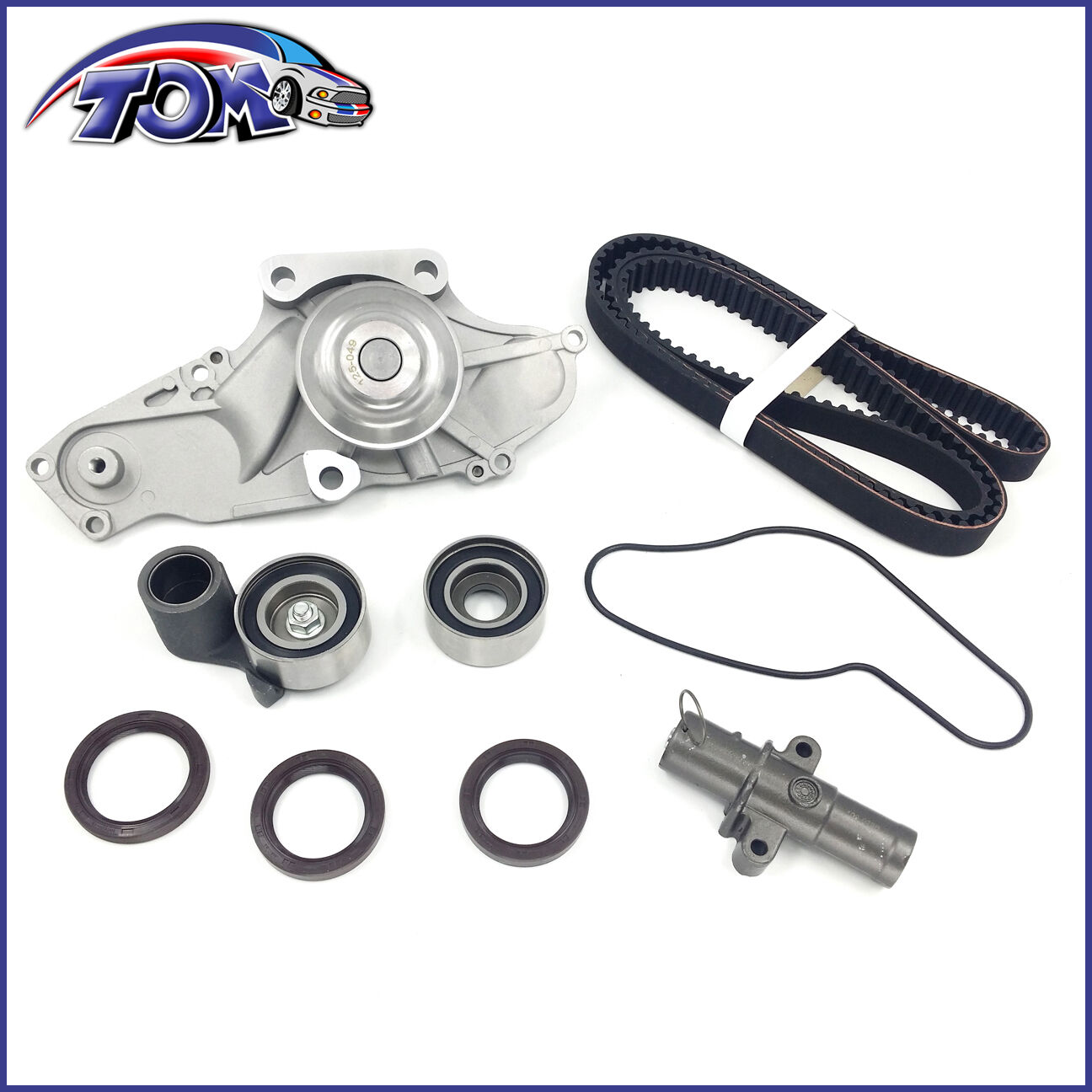 Brand New Timing Belt Kit W Water Pump For Honda Acura Saturn 30 Vue Change 32 37 1 Of 8only 5 Available