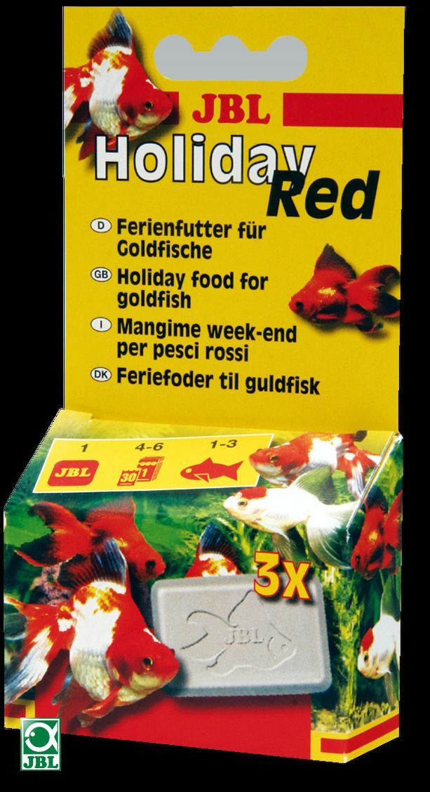 JBL Holiday Red - For Goldfish