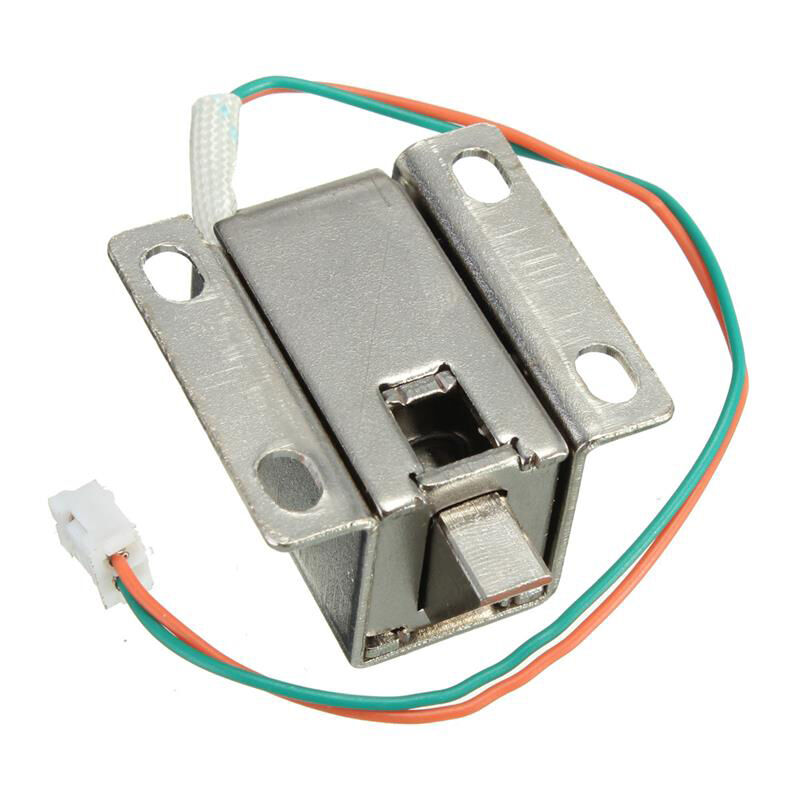 Electric Cabinet Door Lock Assembly Latch Solenoid For Drawer Locker