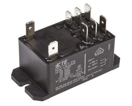 Te Connectivity Dpdt Flange Mount Non Latching Relay No