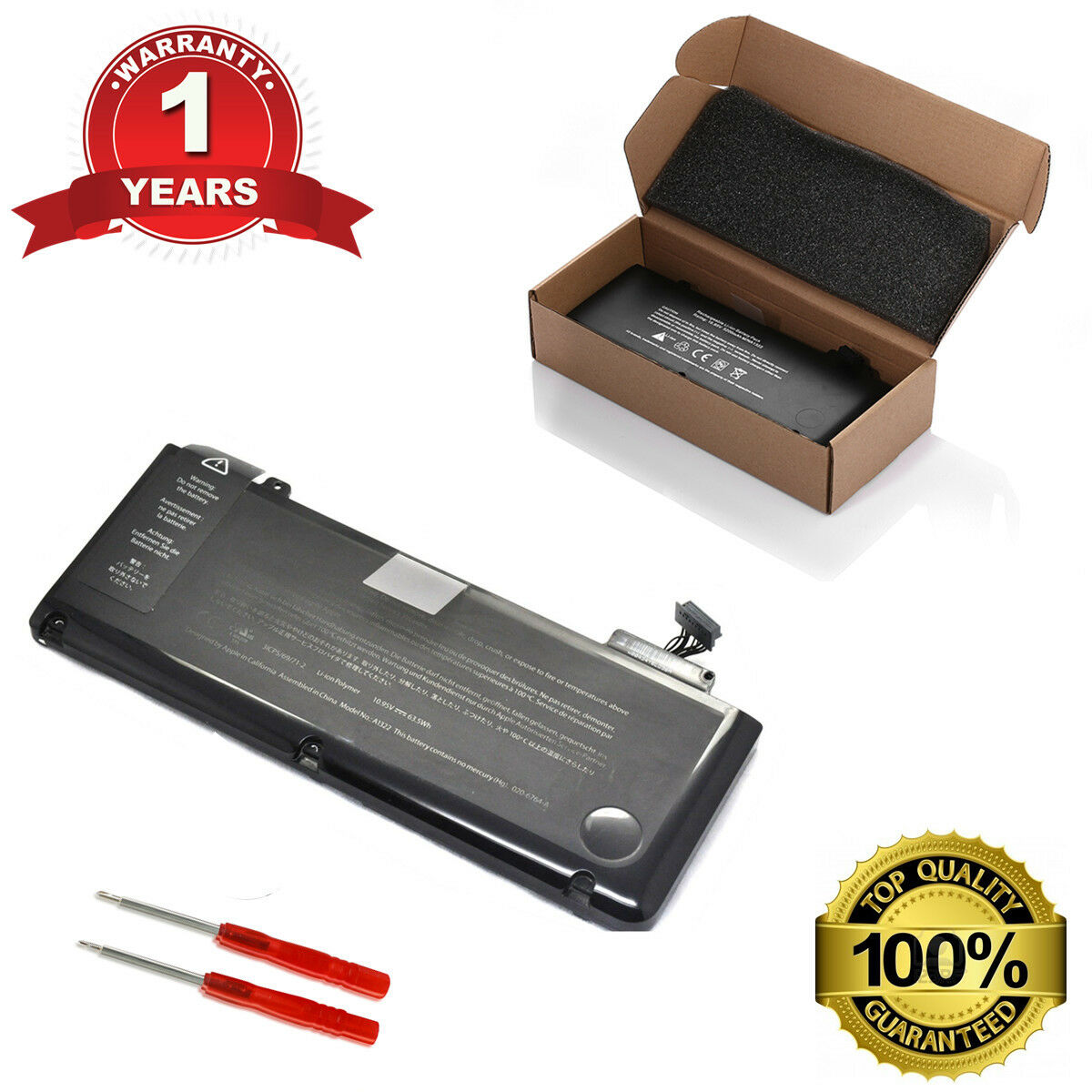 New Oem Genuine Battery For Macbook Pro 13 A1322 A1278 Mid 2009 Baterai Original Apple Inchi 2010 1 Of 12free Shipping