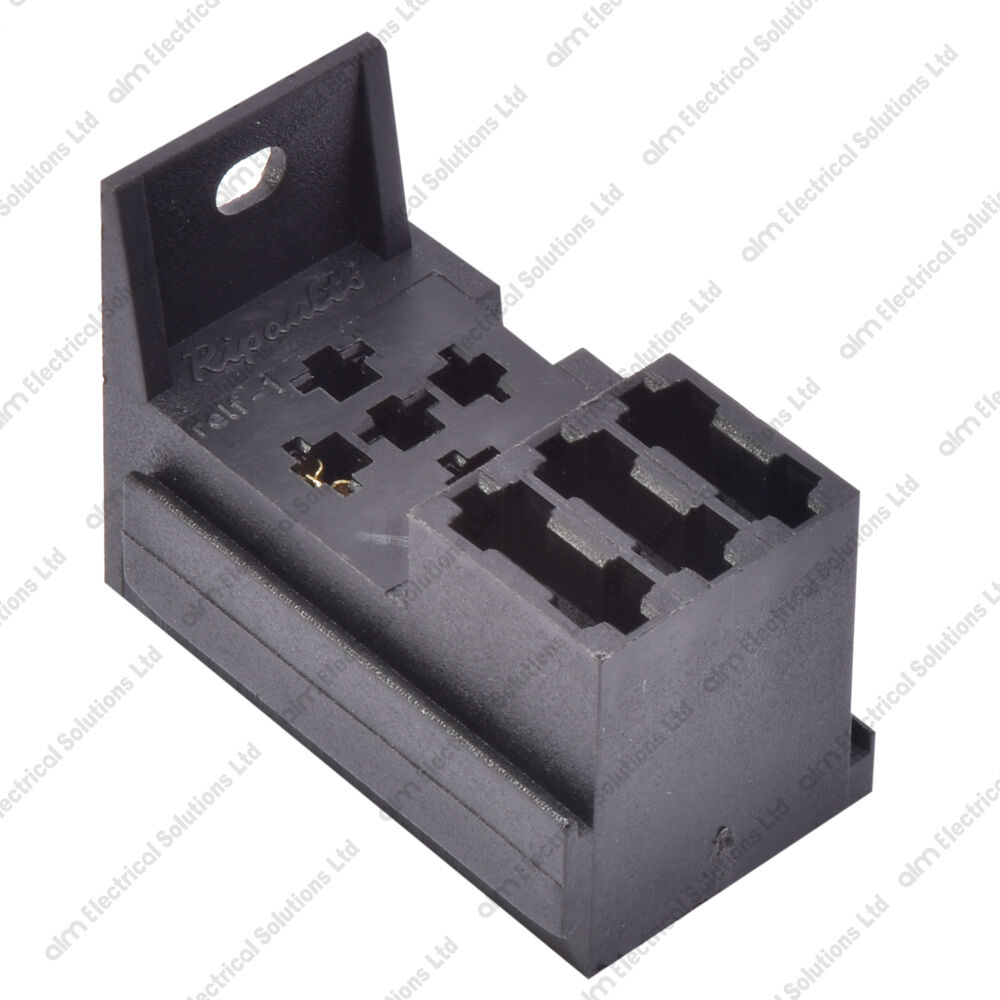 4 5 Pin Relay Base 3 Way Fuse Holder Kit Inc Terminals Lucas 1 Of 3free Shipping