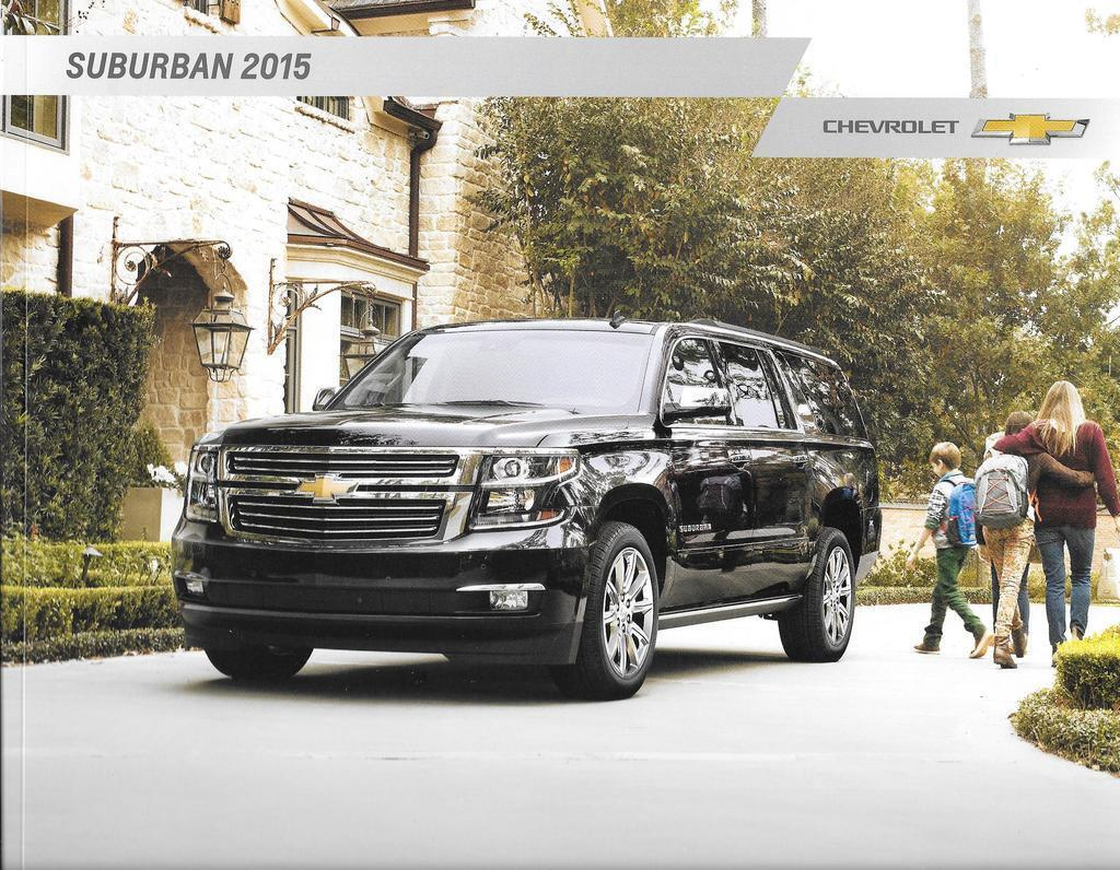 2015 15 chevrolet suburban original sales brochure mint for Dave smith motors locations