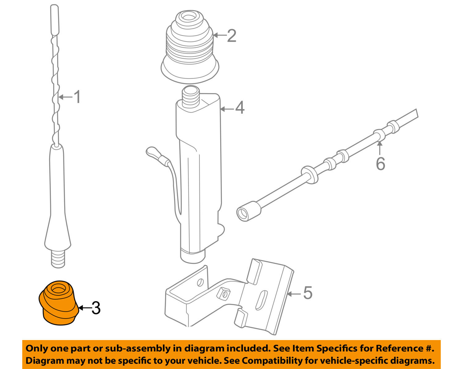 Bmw Oem 96 99 Z3 Antenna Mast Base 65218389698 1596 Picclick 2012 Dodge Ram Diagram 1 Of 2only 0 Available