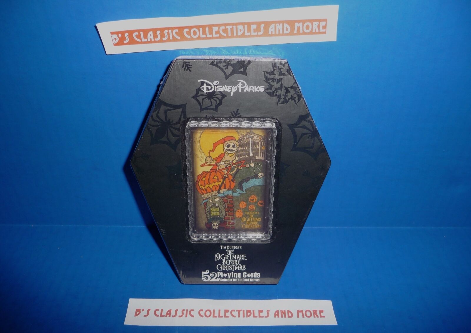 DISNEY PARKS NIGHTMARE Before Christmas Playing Card Set - Coffin ...