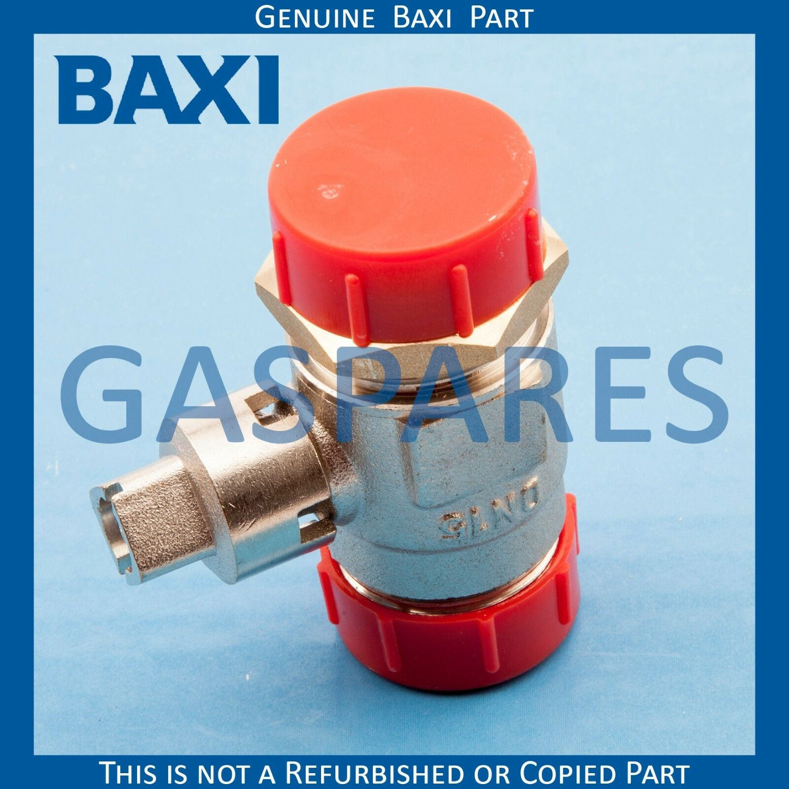 BAXI MAIN GAS Spare Gas Isolation Tap Valve Part No 247485 - Genuine ...