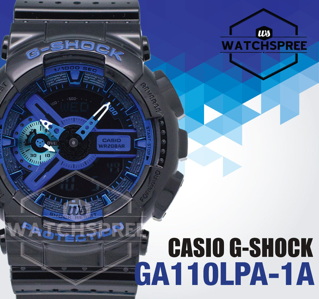 Casio G Shock Special Color Models Series Watch Ga110lpa 1a Ga 400hr 1adr 1 Of 5only Available