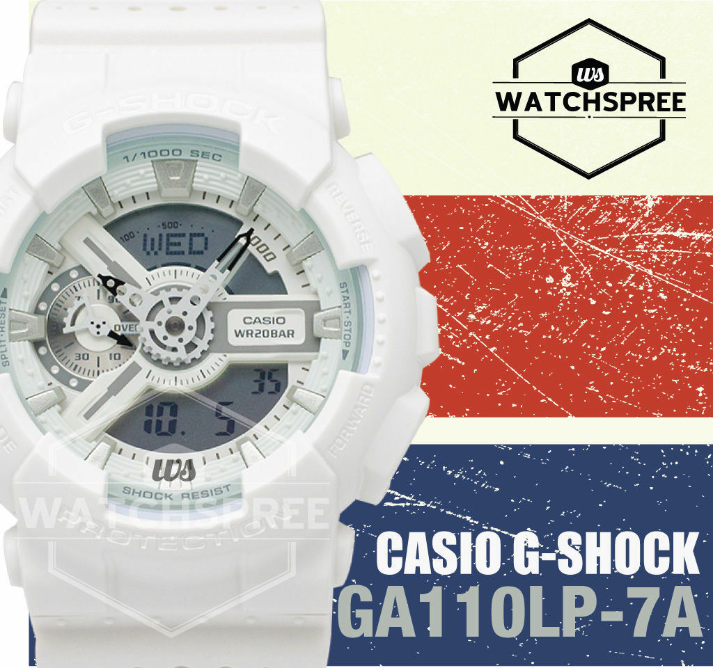 Casio G Shock Special Color Models Series Watch Ga110lp 7a 11820 Ga 110rg 7adr 1 Of 5only 2 Available