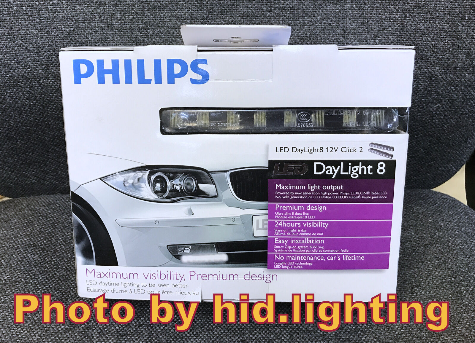Philips Luxeon Led Daylight 8 Daytime Running Light Drl Lamp Wiring Lights 12824 12v 1 Of 12only 5 Available
