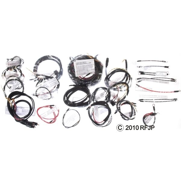 jeep military wwii willys mb ford gpw a2002 c wiring harness late rh picclick com willys wagon wiring harness willys truck wiring harness