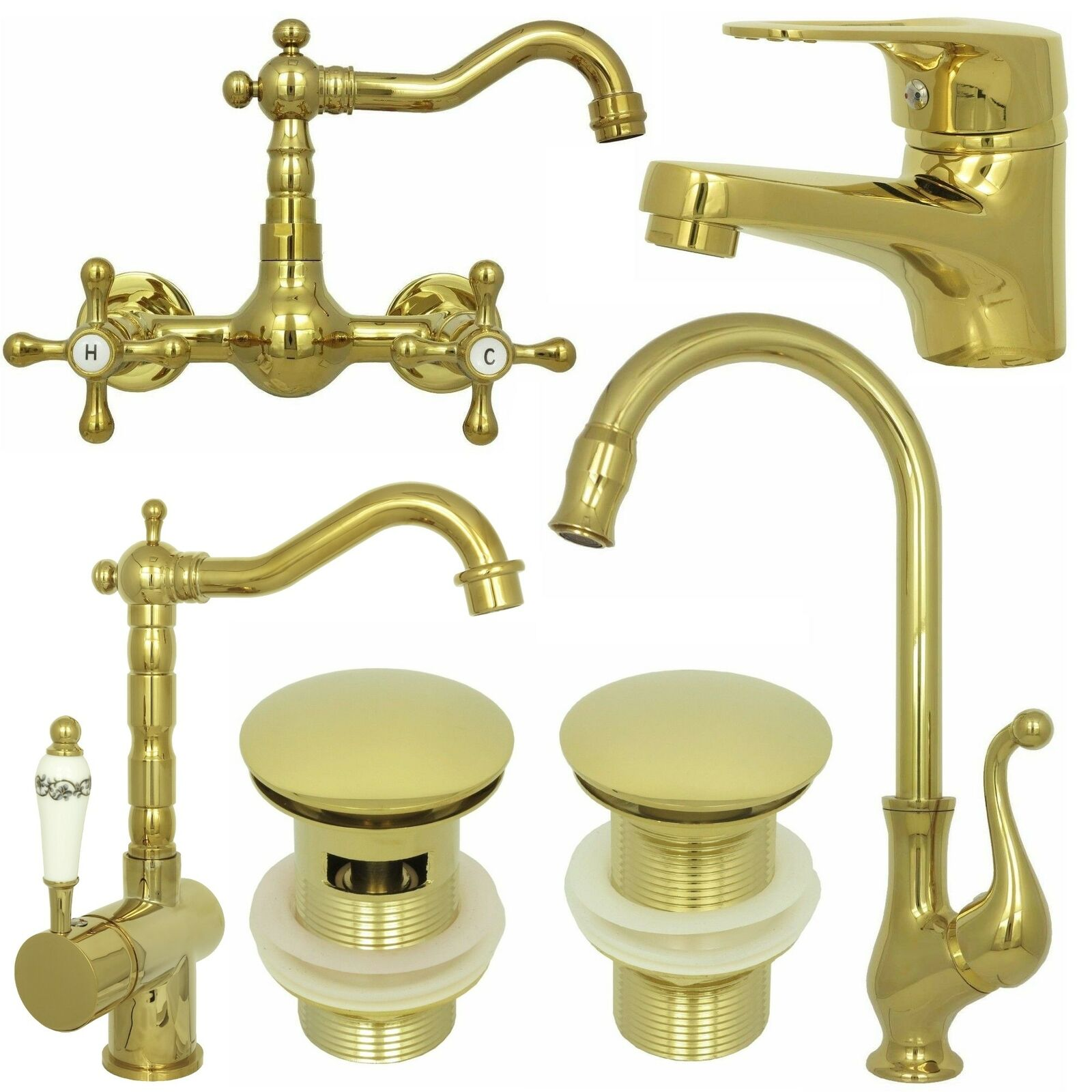 retro waschtisch waschalen wasserhahn einhebel k chen sp ltisch armatur in gold eur 44 95. Black Bedroom Furniture Sets. Home Design Ideas