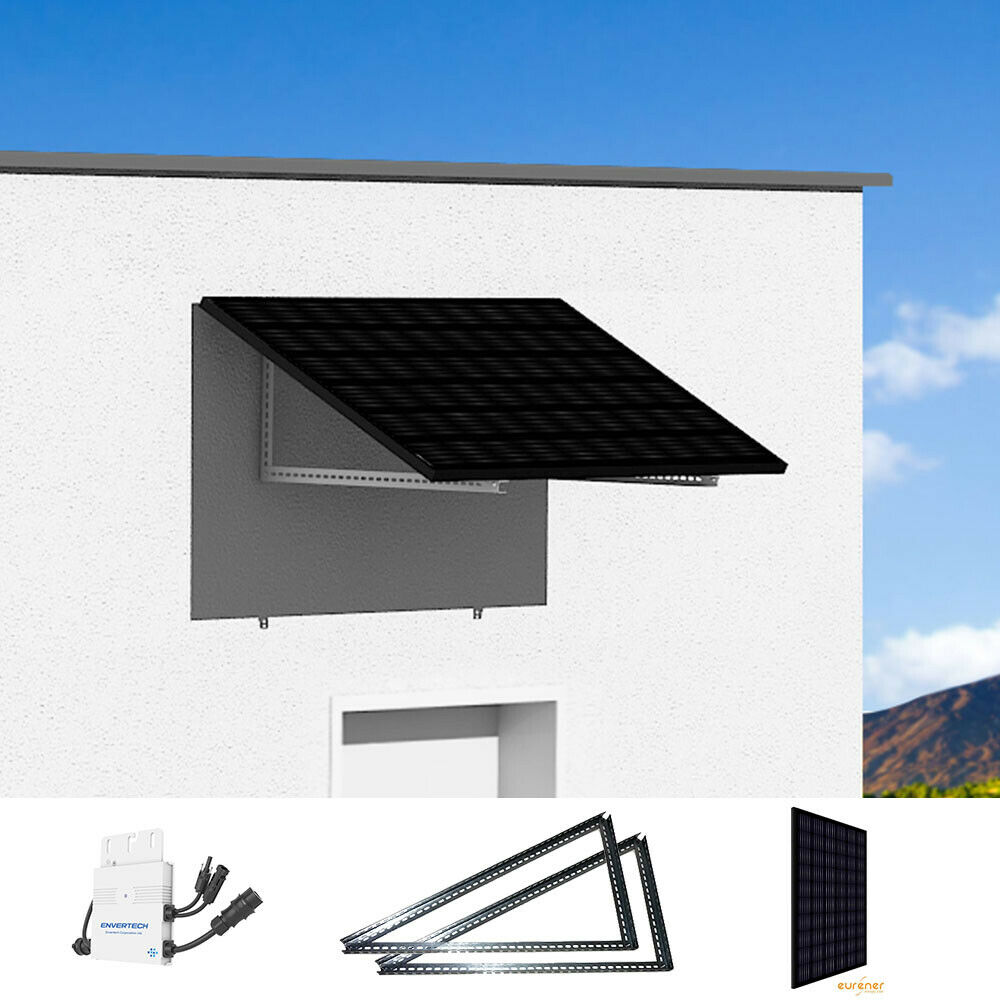 mini photovoltaikanlage solarpanel mit 270wp zur stromerzeugung f rs hausnetz picclick de. Black Bedroom Furniture Sets. Home Design Ideas