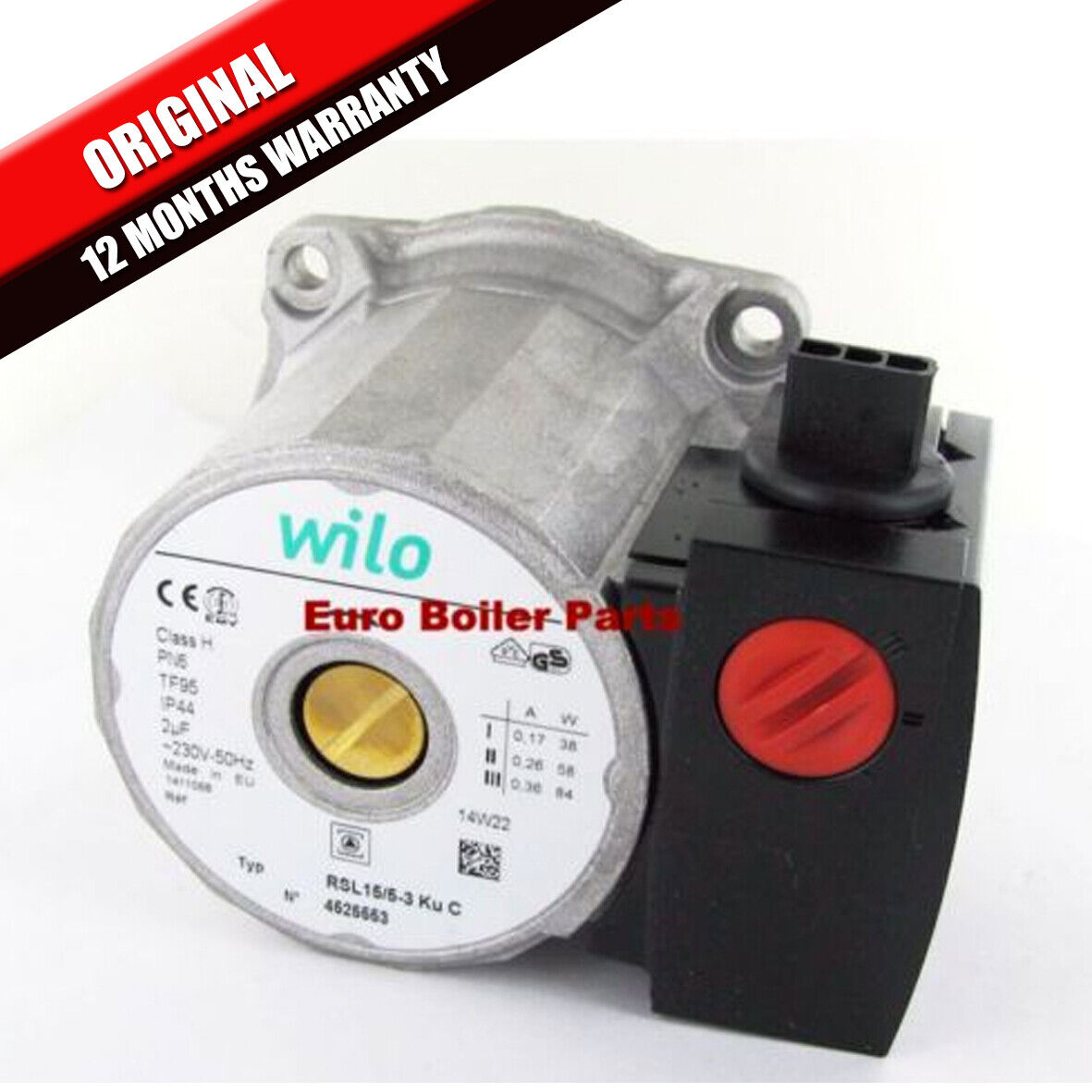 GLOWWORM ULTRACOM 24CXI 30Cxi 38Cxi Pump Head Only 0020014171 Brand ...
