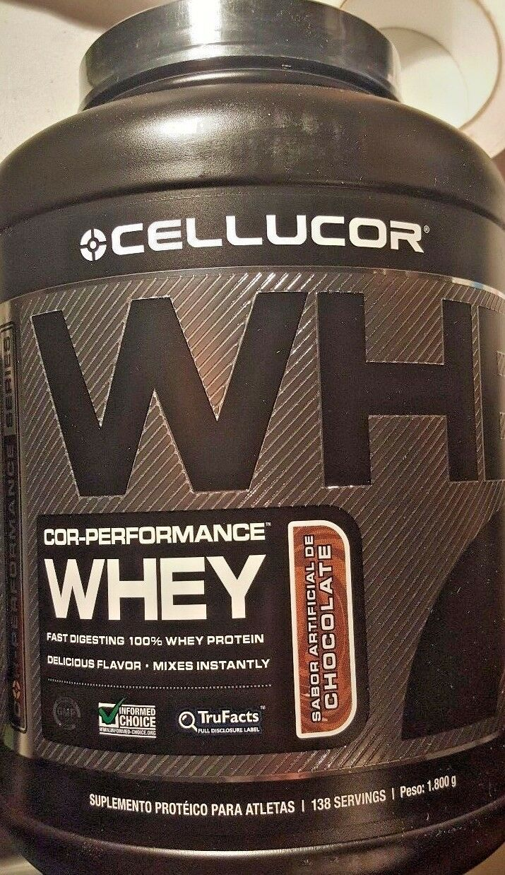 Cellucor Cor Performance Whey Protein 4 Lb Keg Chocolate 2016 New