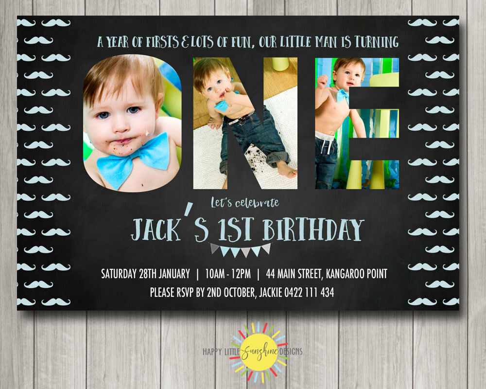 Printable boys birthday invitation photo letters chalkboard printable boys birthday invitation photo letters chalkboard moustache 1st 1 of 1 see more filmwisefo