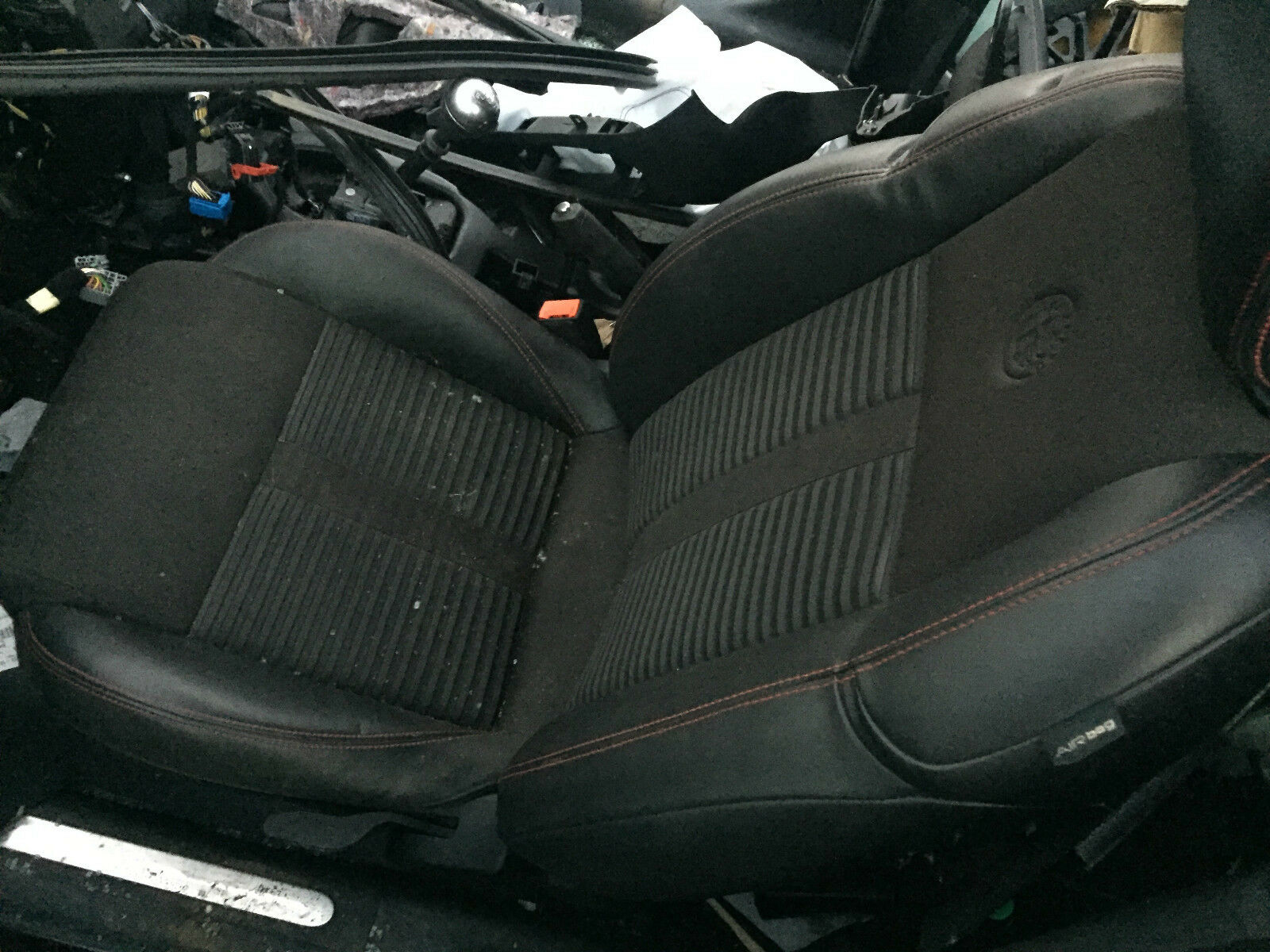Alfa Romeo Giulietta Black Leather Front Rear Seats 26000 1 Of 2only Available