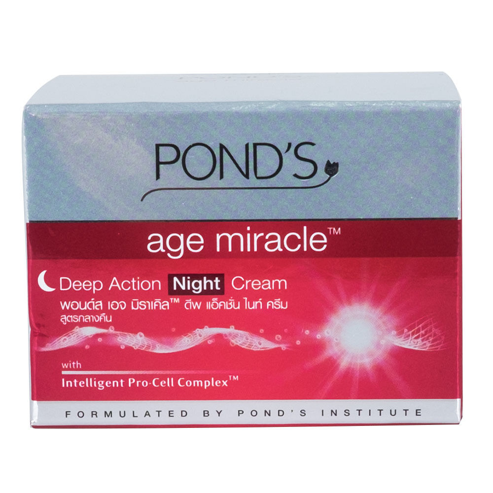 Ponds Age Miracle Deep Action Night Cream Face Anti Aging 1 Of 4only 5 Available