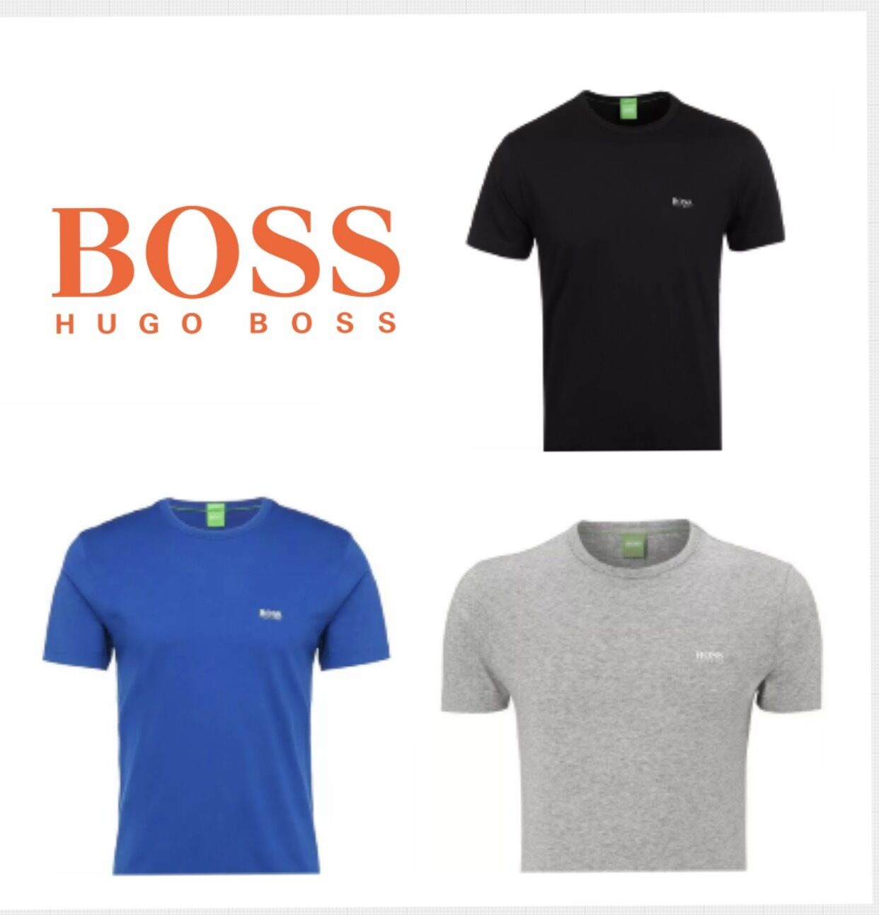 hugo boss short sleeve crew neck polo for men on sale picclick uk. Black Bedroom Furniture Sets. Home Design Ideas