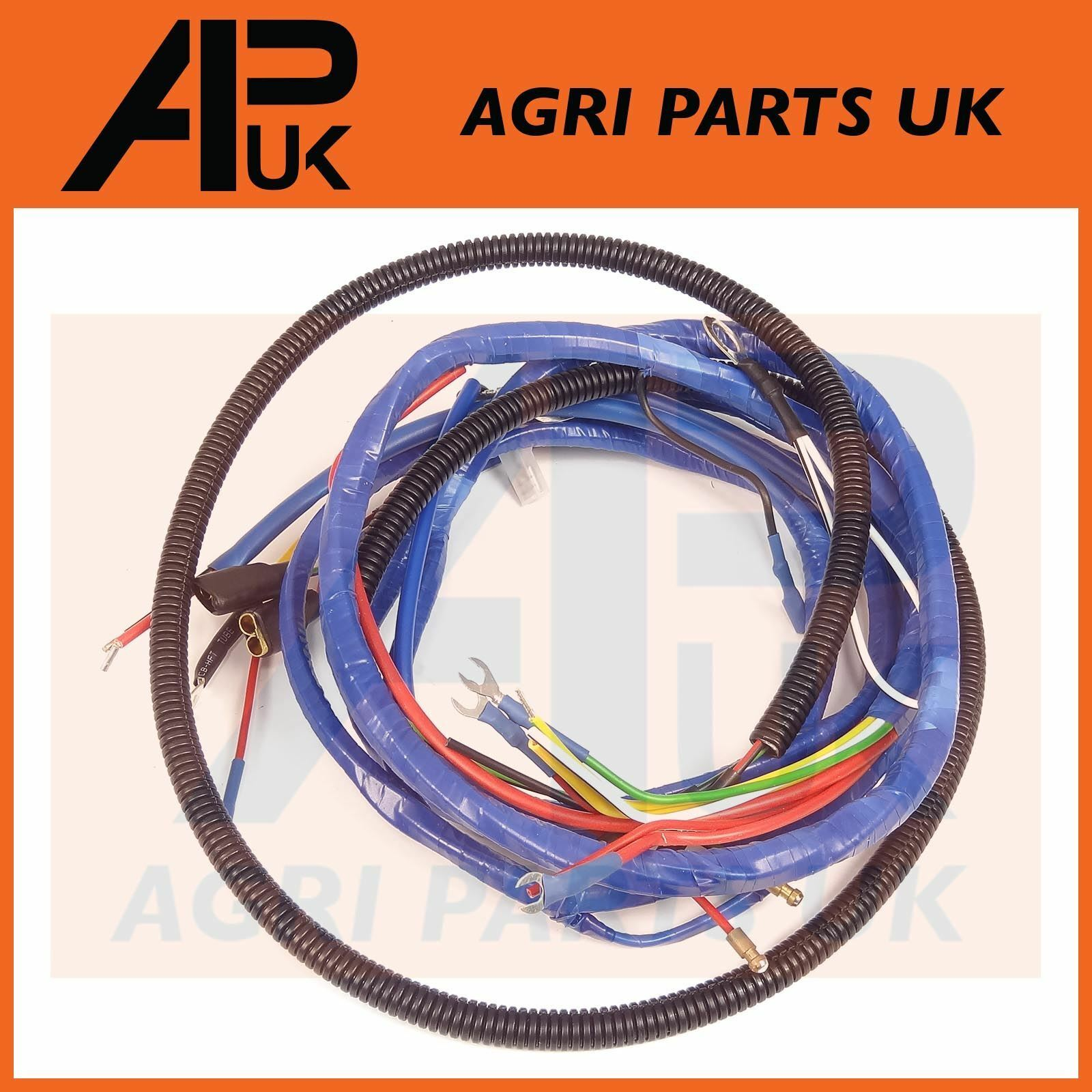 Fordson Major Tractor Wiring Harness Loom 4 Cyl Diesel See Ford 6000 Diagram 1 Of 1free Shipping More
