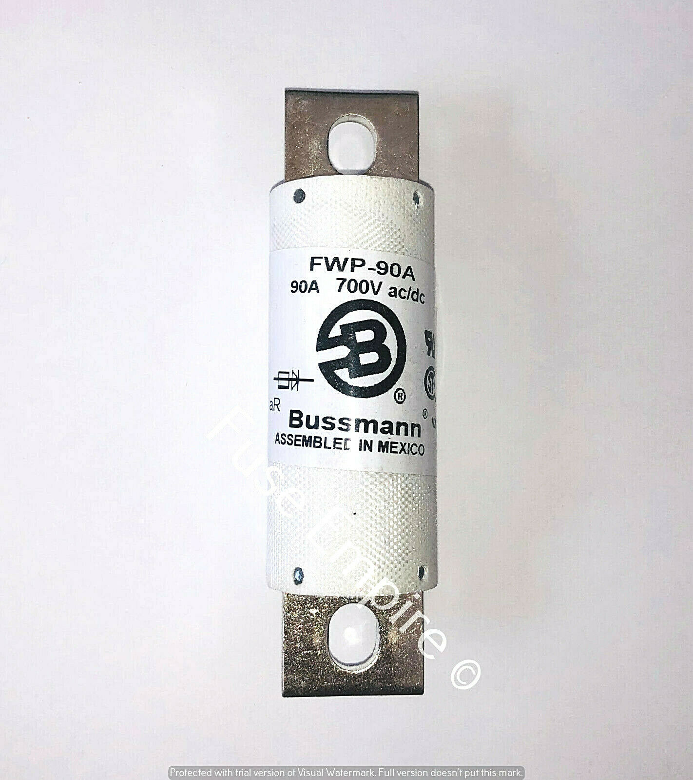 New In Box Bussmann Fwp 90a Semiconductor Fuse 700v 2500 200 Amp Porcelain 1 Of 1only 4 Available