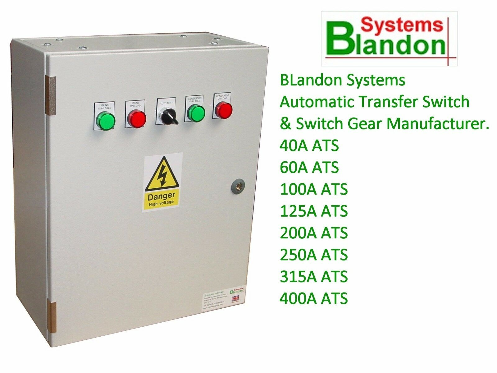 Ats Automatic Transfer Switch Panel Changeover 3 Phase Sizes Details About Controller Build Your 1 Of 4free Shipping