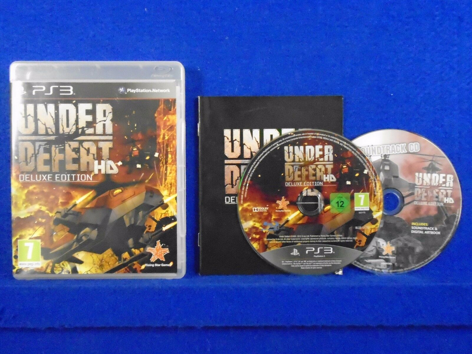 Ps3 Under Defeat Hd Deluxe Edition Shmup Soundtrack Cd Pal English Ps4 Nba 2k19 20th Anniversary Region 3 1 Of 1only Available