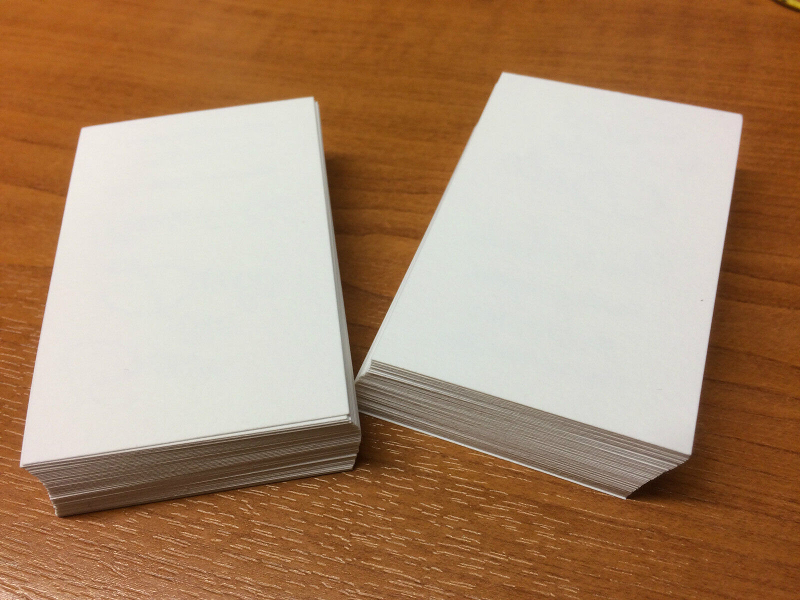 100 white blank business cards 250gsm stamp print white smooth 1 of 1free shipping colourmoves