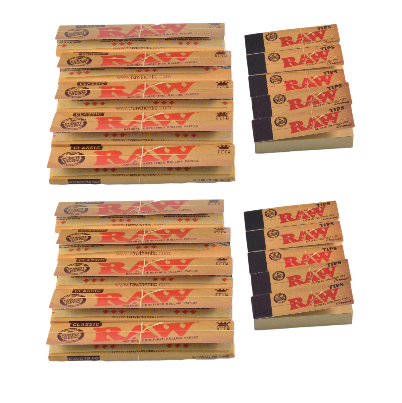 raw papers with tips for sale Raw organic connoisseur king size slim papers with tips are made from pure hemp paper and have been organically grown they also come with unbleached filter tips.